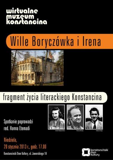 Wille Boryczówka i Irena