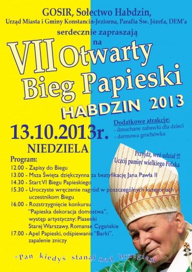 Bieg Papieski 2013