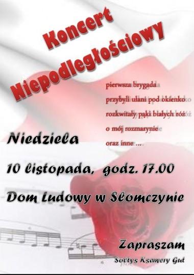 Koncert w Słomczynie