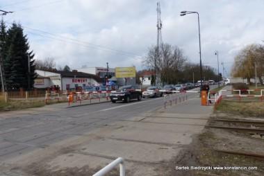 Przejazd kolejowy na Warszawskiej, Konstancin-Jeziorna