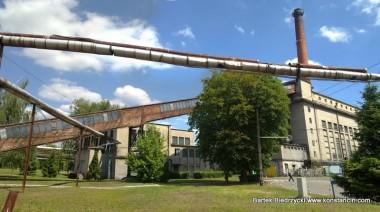 Fabryka papieru w Mirkowie, widok od ul. Mirkowskiej, Konstancin-Jeziorna