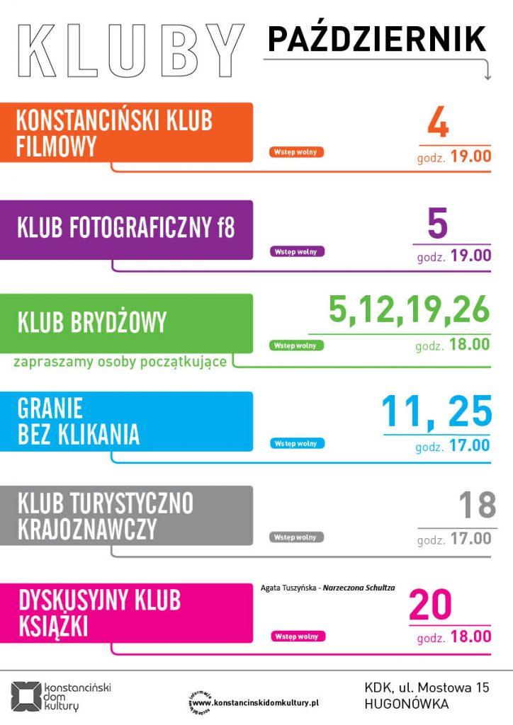 kluby_plakat_pazdziernik_2016